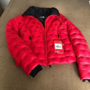NWT Red The North Face size xs